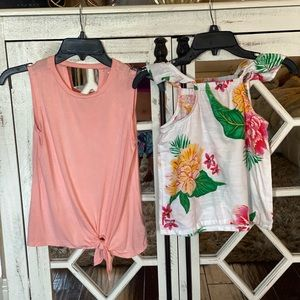 Super cute summer blouses girls size:8